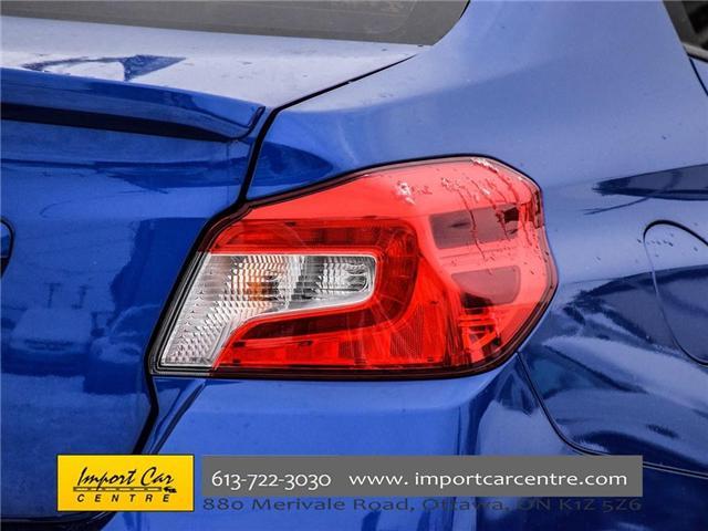 2017 Subaru WRX STI Sport-tech (Stk: 836298) in Ottawa - Image 7 of 30