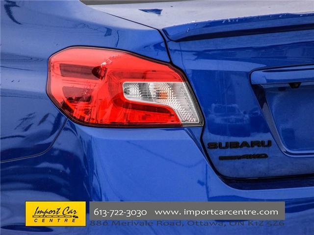 2017 Subaru WRX STI Sport-tech (Stk: 836298) in Ottawa - Image 8 of 30