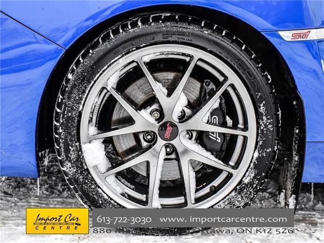 2017 Subaru WRX STI Sport-tech (Stk: 836298) in Ottawa - Image 9 of 30