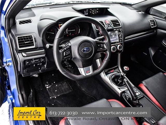 2017 Subaru WRX STI Sport-tech (Stk: 836298) in Ottawa - Image 12 of 30