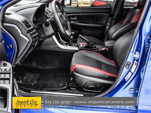 2017 Subaru WRX STI Sport-tech (Stk: 836298) in Ottawa - Image 13 of 30