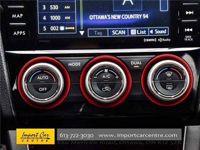 2017 Subaru WRX STI Sport-tech (Stk: 836298) in Ottawa - Image 17 of 30