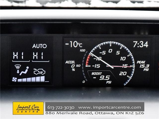 2017 Subaru WRX STI Sport-tech (Stk: 836298) in Ottawa - Image 18 of 30