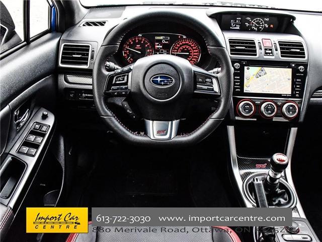 2017 Subaru WRX STI Sport-tech (Stk: 836298) in Ottawa - Image 21 of 30