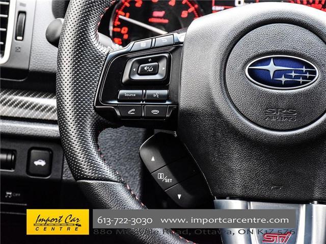2017 Subaru WRX STI Sport-tech (Stk: 836298) in Ottawa - Image 22 of 30