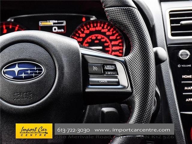 2017 Subaru WRX STI Sport-tech (Stk: 836298) in Ottawa - Image 23 of 30