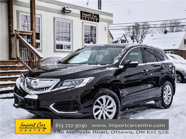 2016 Acura RDX Base (Stk: 802537) in Ottawa - Image 1 of 30