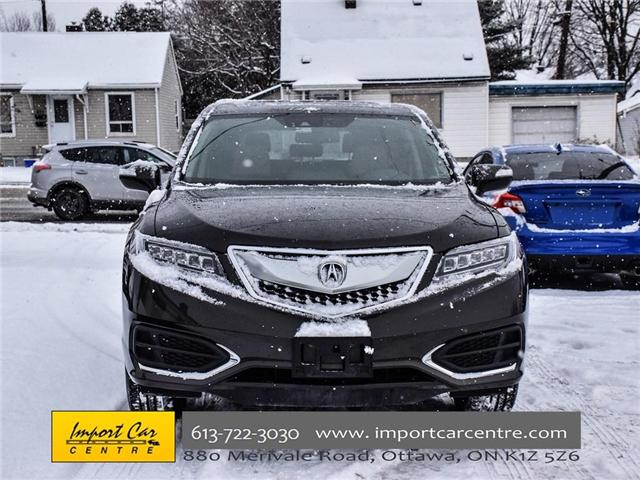 2016 Acura RDX Base (Stk: 802537) in Ottawa - Image 2 of 30