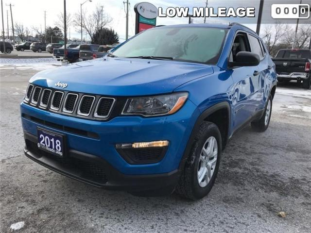 2018 Jeep Compass Sport (Stk: 23850T) in Newmarket - Image 1 of 20