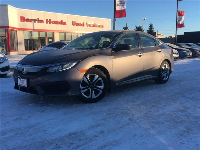2017 Honda Civic LX (Stk: U17285) in Barrie - Image 1 of 14