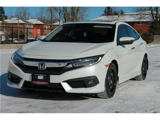 2016 Honda Civic Touring (Stk: Consign-1901) in Waterloo - Image 1 of 30