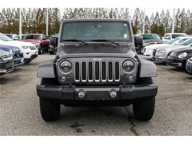 2016 Jeep Wrangler Sahara (Stk: K540602A) in Abbotsford - Image 2 of 10