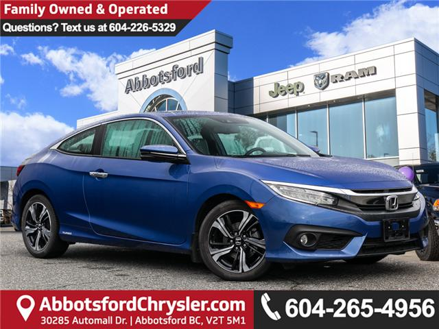 2017 Honda Civic Touring (Stk: AB0804) in Abbotsford - Image 1 of 27