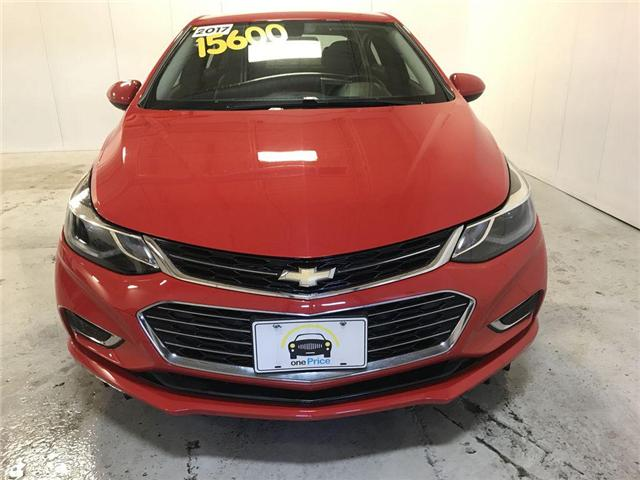 2017 Chevrolet Cruze Premier Auto (Stk: 593487) in Milton - Image 6 of 30