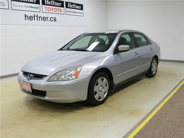 2005 Honda Accord LX V6 (Stk: 186490) in Kitchener - Image 1 of 25