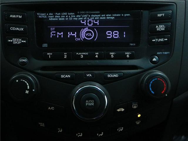 2005 Honda Accord LX V6 (Stk: 186490) in Kitchener - Image 12 of 25