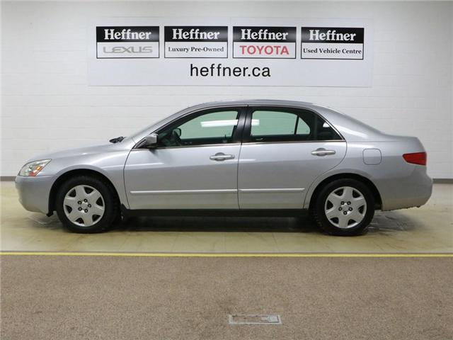 2005 Honda Accord LX V6 (Stk: 186490) in Kitchener - Image 16 of 25