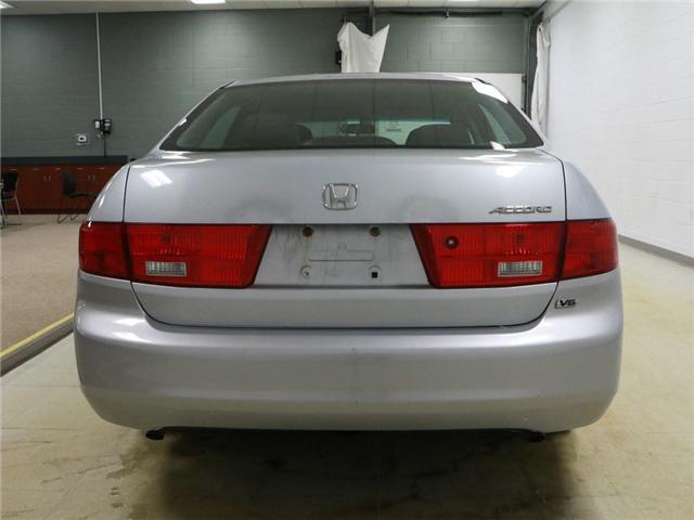 2005 Honda Accord LX V6 (Stk: 186490) in Kitchener - Image 18 of 25