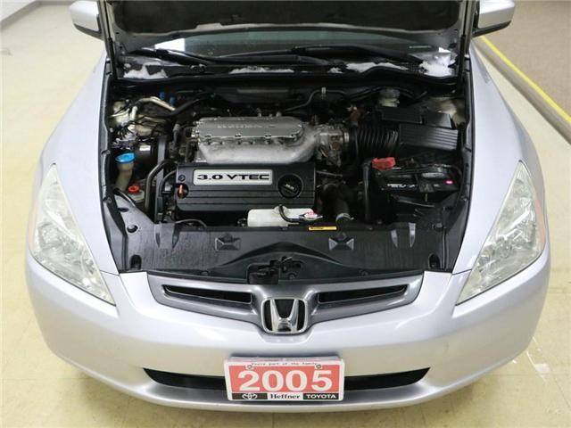 2005 Honda Accord LX V6 (Stk: 186490) in Kitchener - Image 22 of 25