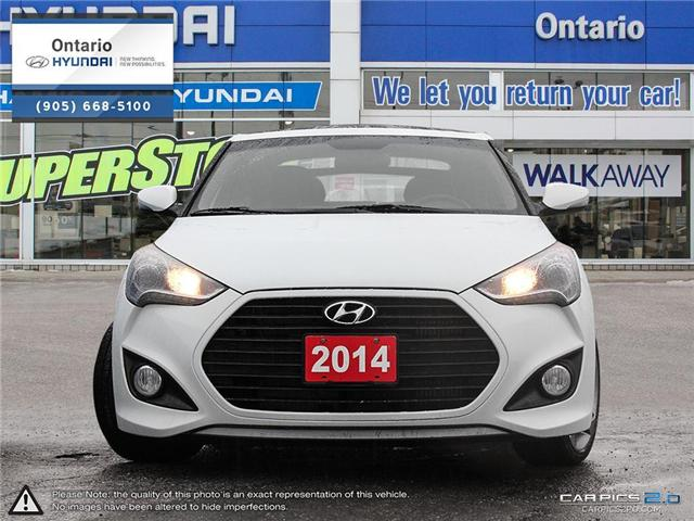 2014 Hyundai Veloster Turbo / Auto / 4 New Tires! (Stk: 90762K) in Whitby - Image 2 of 27