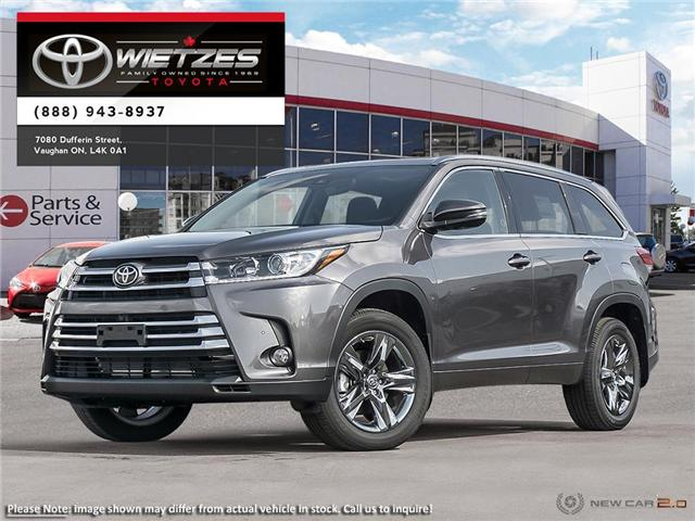 2019 Toyota Highlander Limited AWD (Stk: 68011) in Vaughan - Image 1 of 24