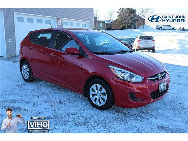 2015 Hyundai Accent GL (Stk: 92474A) in Saint John - Image 1 of 19