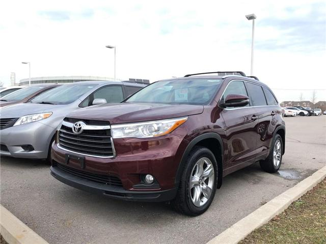 2016 Toyota Highlander Limited (Stk: P1645) in Whitchurch-Stouffville - Image 1 of 16