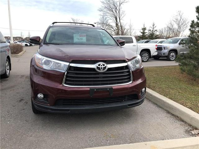 2016 Toyota Highlander Limited (Stk: P1645) in Whitchurch-Stouffville - Image 2 of 16