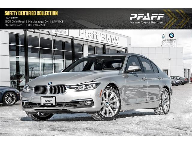 2017 BMW 330i xDrive Sedan (8D97) (Stk: U5245) in Mississauga - Image 1 of 18