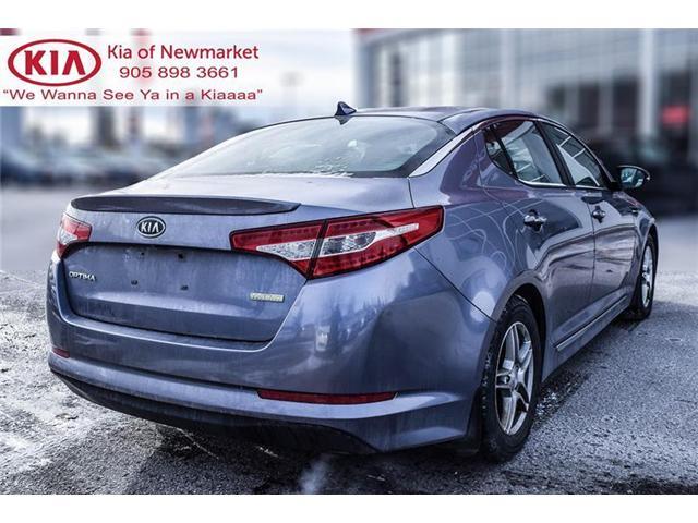2011 Kia Optima Hybrid Premium (Stk: 180630A) in Newmarket - Image 5 of 20