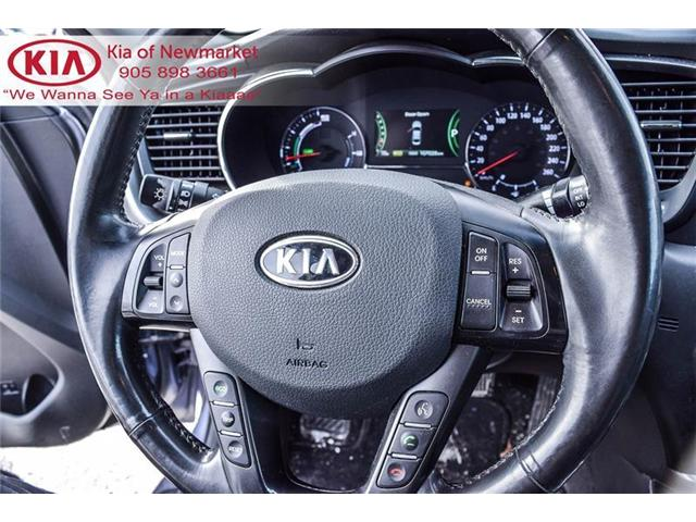 2011 Kia Optima Hybrid Premium (Stk: 180630A) in Newmarket - Image 13 of 20