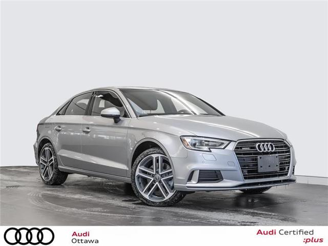 2018 Audi A3 2.0T Progressiv (Stk: 51884) in Ottawa - Image 1 of 22