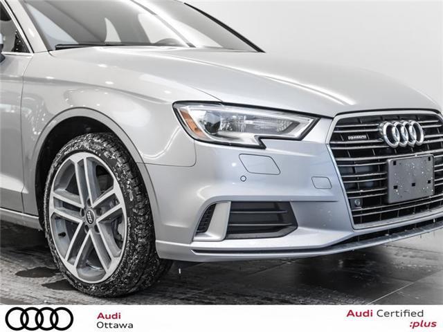 2018 Audi A3 2.0T Progressiv (Stk: 51884) in Ottawa - Image 11 of 22