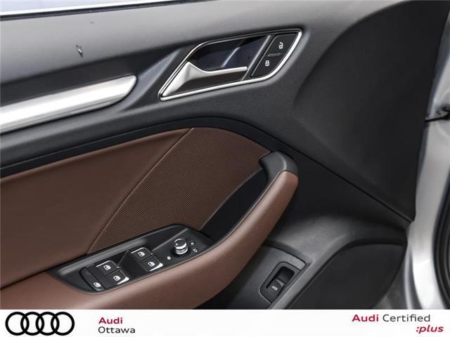 2018 Audi A3 2.0T Progressiv (Stk: 51884) in Ottawa - Image 13 of 22