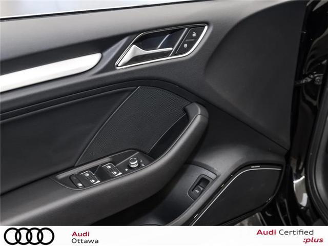 2018 Audi A3 2.0T Technik (Stk: 51898) in Ottawa - Image 13 of 22