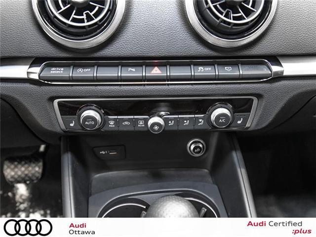 2018 Audi A3 2.0T Technik (Stk: 51898) in Ottawa - Image 21 of 22