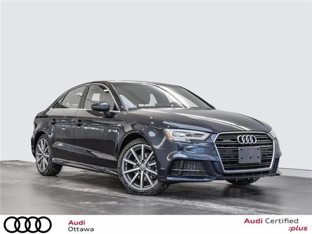 2018 Audi A3 2.0T Progressiv (Stk: 52056) in Ottawa - Image 1 of 22