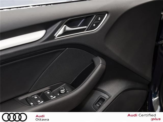 2018 Audi A3 2.0T Progressiv (Stk: 52056) in Ottawa - Image 13 of 22