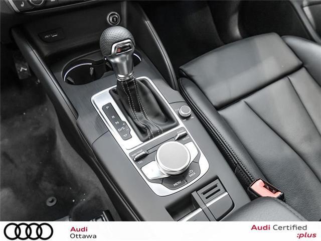 2018 Audi A3 2.0T Progressiv (Stk: 52056) in Ottawa - Image 20 of 22
