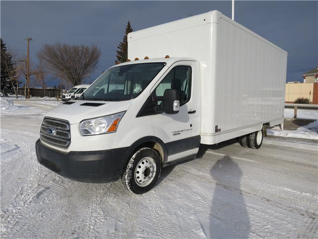 2018 Ford Transit-350 Cutaway Base (Stk: J-297) in Okotoks - Image 1 of 4