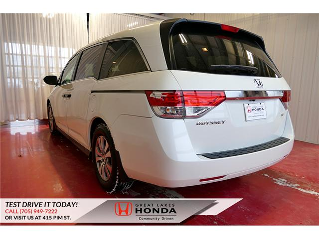 2016 Honda Odyssey SE (Stk: H6200A) in Sault Ste. Marie - Image 4 of 22