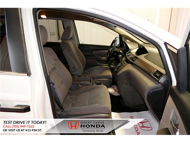 2016 Honda Odyssey SE (Stk: H6200A) in Sault Ste. Marie - Image 14 of 22