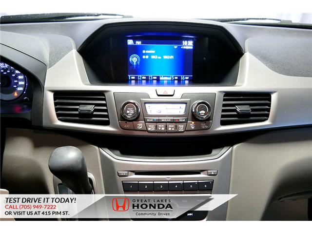 2016 Honda Odyssey SE (Stk: H6200A) in Sault Ste. Marie - Image 19 of 22