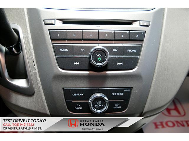 2016 Honda Odyssey SE (Stk: H6200A) in Sault Ste. Marie - Image 20 of 22