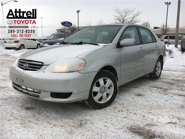 2004 Toyota Corolla LE ALLOY WHEELS, TILT, ABS, WOOD ACCENT DASH, KEYL (Stk: 8524) in Brampton - Image 1 of 16