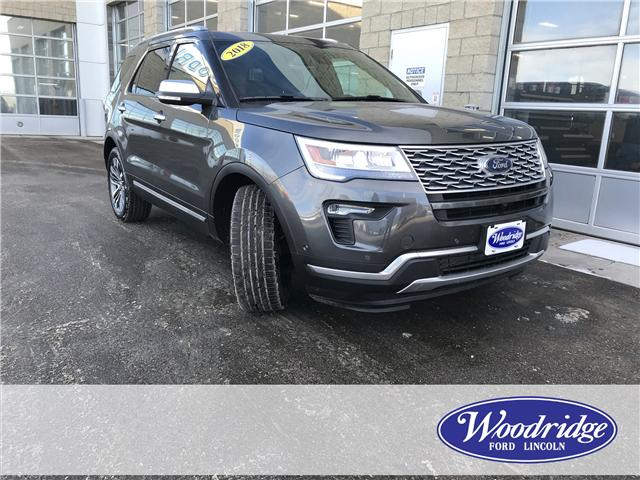 2018 Ford Explorer Platinum (Stk: 17143) in Calgary - Image 1 of 25