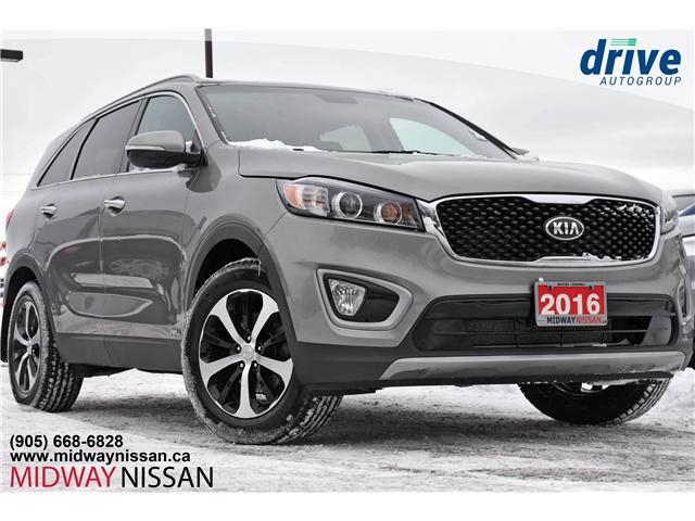 2016 Kia Sorento 3.3L EX+ (Stk: U1547RA) in Whitby - Image 1 of 27