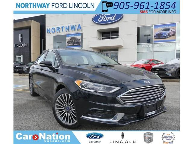 2018 Ford Fusion SE (Stk: FU82680) in Brantford - Image 1 of 27