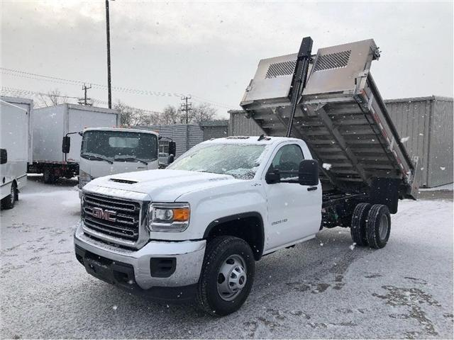 2019 GMC Sierra 3500HD SOLD!New 2019 GMC Sierra 3500 4x4 W/Aluminum Dump (Stk: DT95195) in Toronto - Image 1 of 12