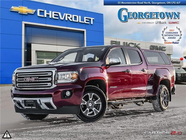 2017 GMC Canyon SLT (Stk: 25480) in Georgetown - Image 1 of 27